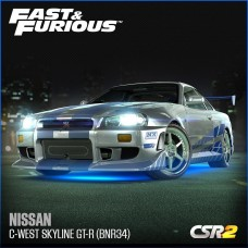 Nissan C-West Skyline GT-R (BNR34) (CSR2)
