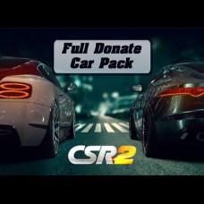 CSR 2: Full Donate Car Pack (только IOS)