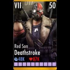 Дефстроук Красный Сын