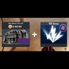 Комбо 10000000 Кредитов Силы +1300 Энергии
